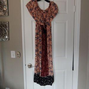 NWT Lush off the shoulder dress Dress